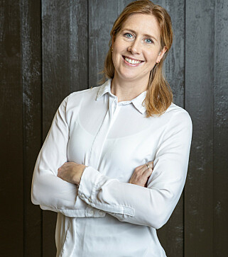 FARGESJEF: Jenny Bull-Gustavsen.