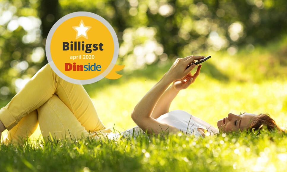 IKKE BETAL FOR MYE: Det er fort gjort å bytte mobiloperatør. Det kan du spare penger på hver måned. Foto: Shutterstock / NTB Scanpix