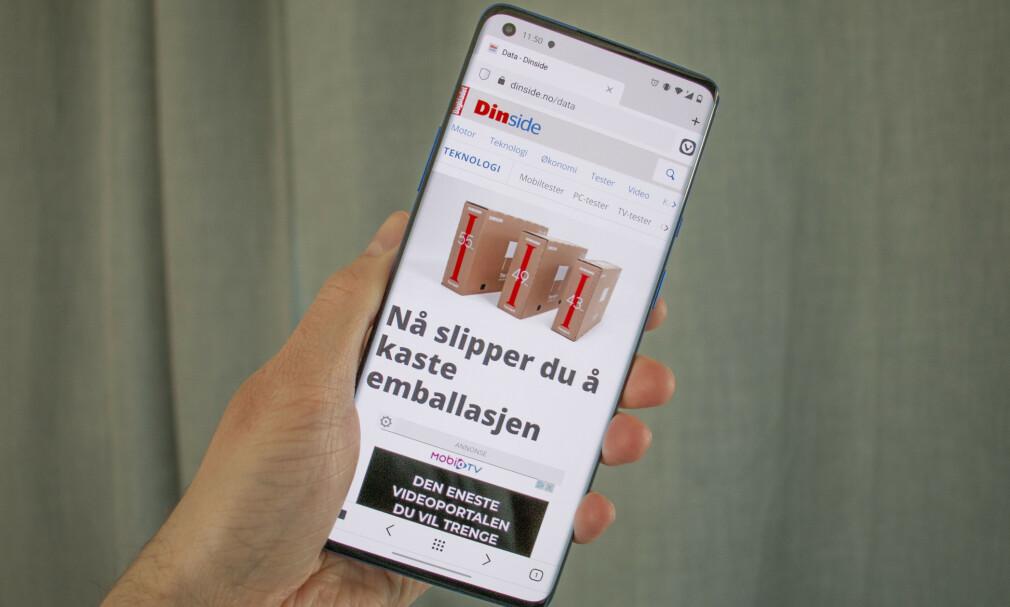 VIVALDI: Nå er nettleseren endelig tilgjengelig for mobil. Først ut er Android. Foto: Martin Kynningsrud Størbu