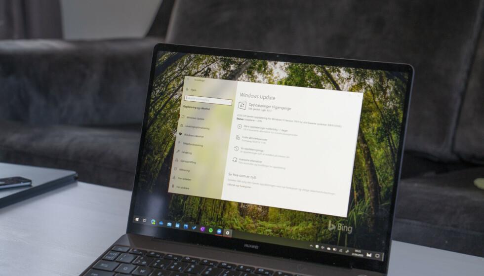 TRØBBEL: En fersk Windows 10-oppdatering skaper trøbbel for PC-brukere. Foto: Martin Kynningsrud Størbu