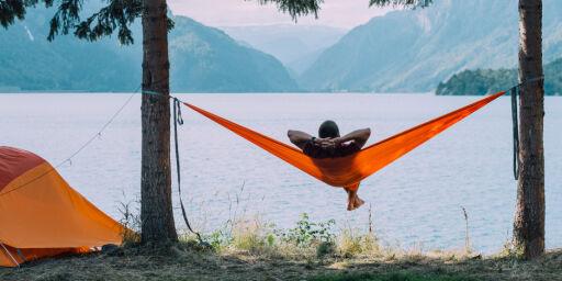 image: Hvor kan du campe med telt og hengekøye?