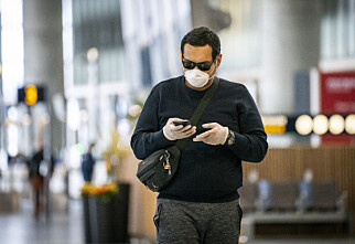 Munnbindkrav på Oslo lufthavn