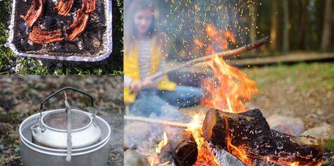 image: Trygg bruk av engangsgrill og stormkjøkken