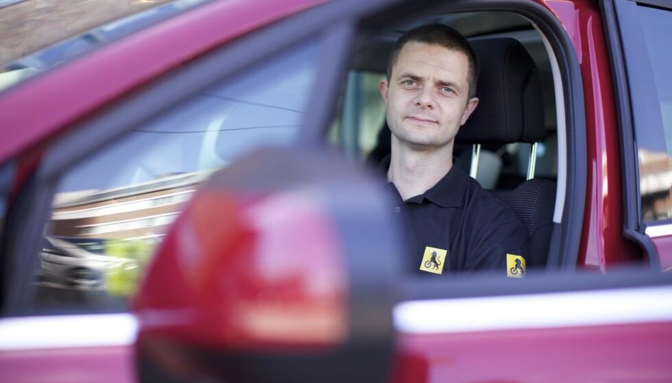 Nils Sødal er senior kommunikasjonsrådgiver i NAF. Foto: NAF