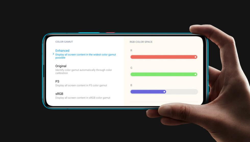 AMOLED: Lav prislapp til tross – Poco F2 Pro har Amoled-skjerm med HDR10+-støtte. Foto: Poco
