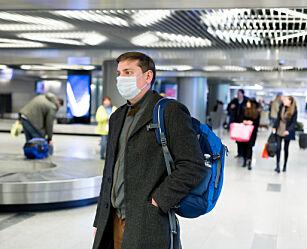 image: Reuters: EU vil påby munnbind på fly