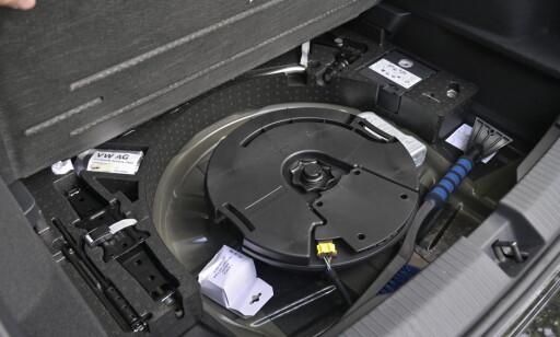 TAR PLASS: Uten basskasse kan du senke gulvet 10 cm ekstra. Foto: Rune M. Nesheim