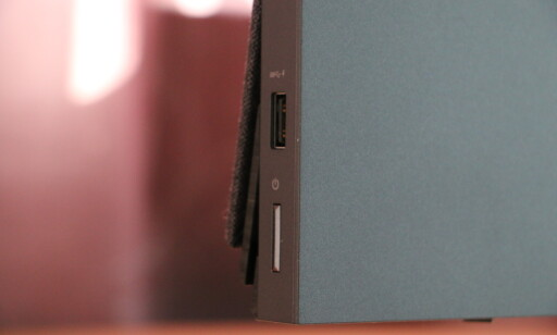 samt USB-A er lett tilgjengelig.