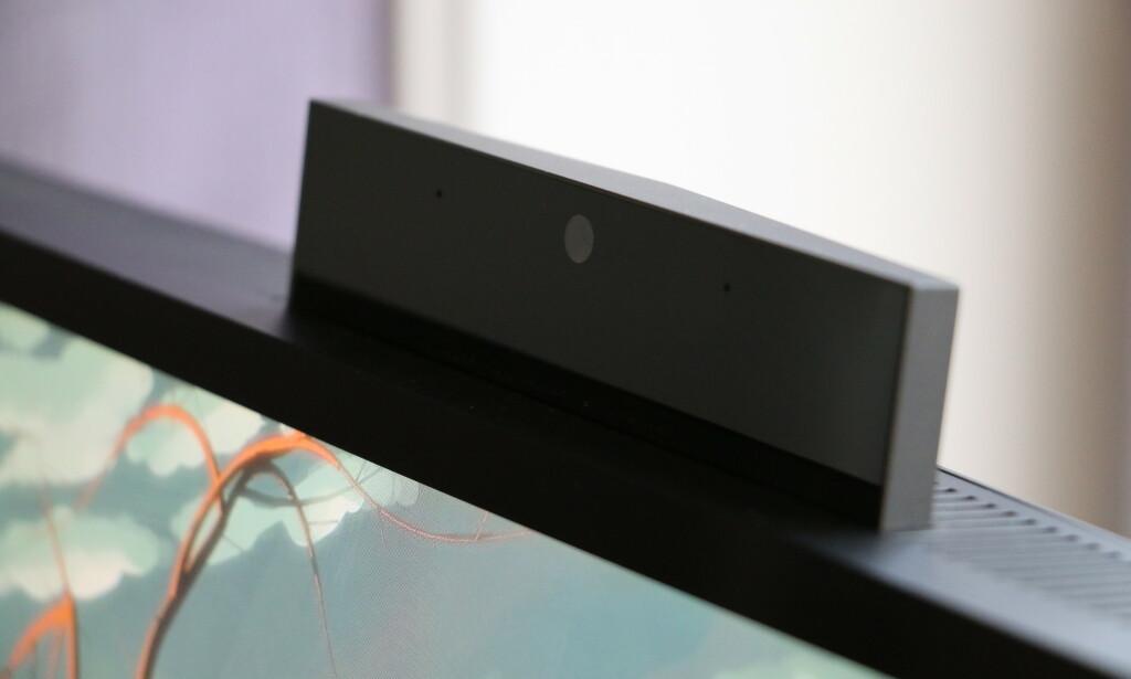 Sprettoppkamera med Windows Hello. Foto: Martin Kynningsrud Størbu