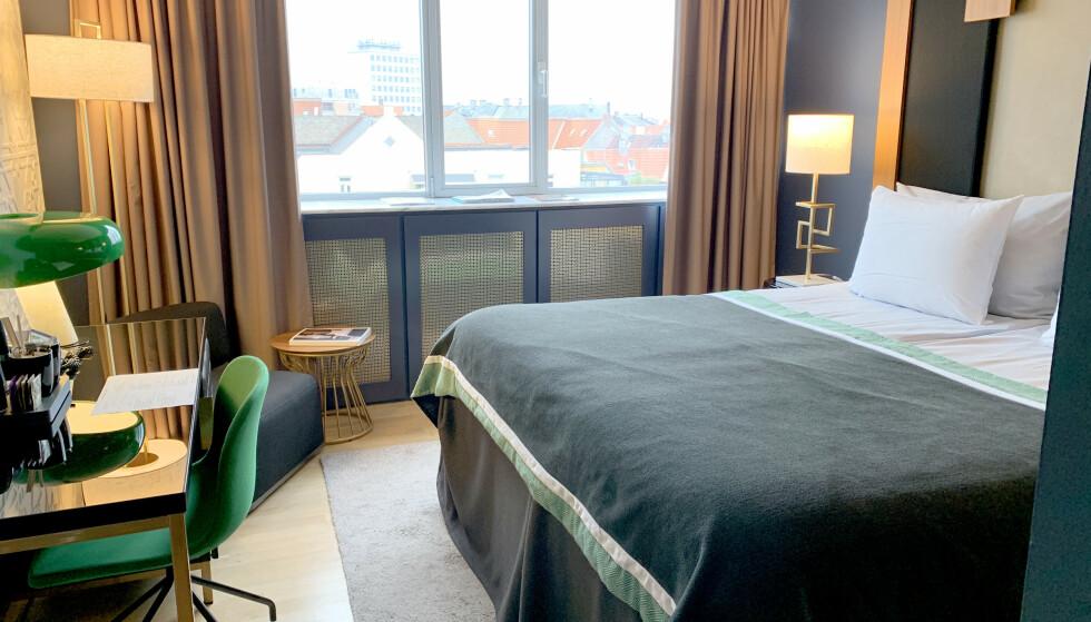 IKKE HELT SOM VANLIG: Hotellene må tilpasse seg smittevernregler, noe som også vil få innvirkning på hvilke tilbud du får på hotellet. Foto: Kristin Sørdal