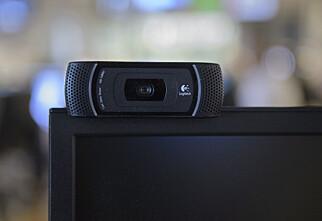 Umulig å oppdrive webkameraer