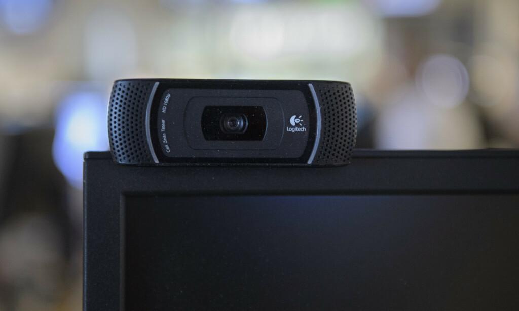 UTSOLGT: Akkurat nå er det vanskelig å få kjøpt et separat webkamera i norske elektronikkbutikker. Foto: Noella Johansson/TT Nyhetsbyrån/NTB Scanpix