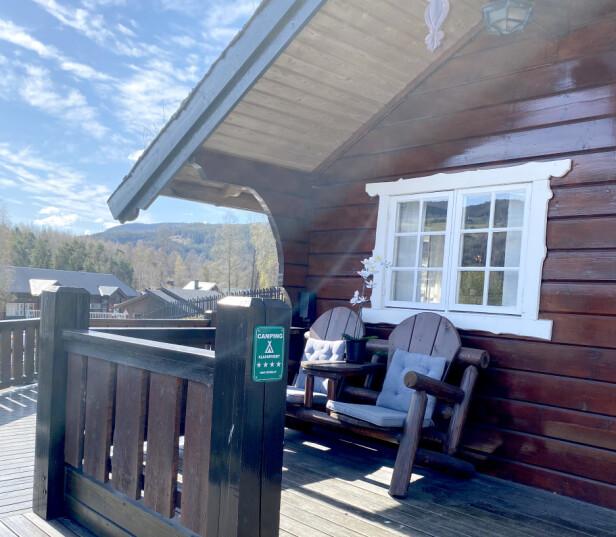 FIRE STJERNER: Fagernes Camping er en av fire campingplasser som har fire stjerner både i ADAC-guiden og i den offisielle nordiske merkeordningen i regi av NHO Reiseliv, som du kan se på camping.no. Foto: Fagernes Camping