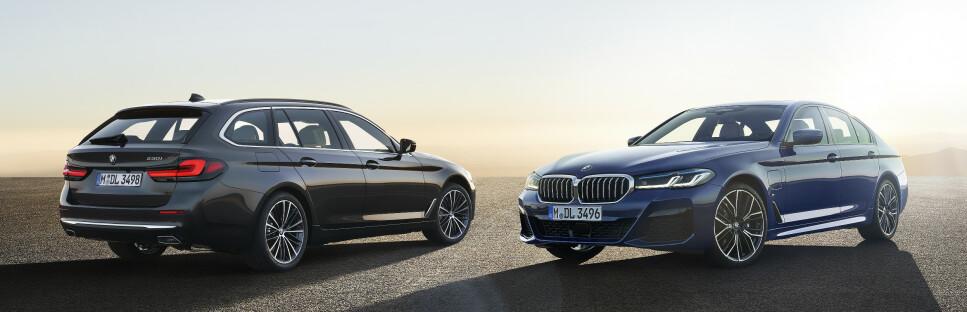 ELEKTRIFISERES: BMW fornyer både på inn- utsiden. Foto: BMW