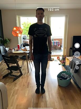 STEMMER: Denne fyren er faktisk så høy. Skjermbilde: Kirsti Østvang