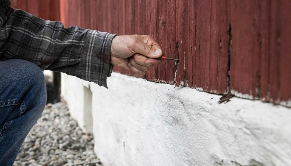 Knivtrikset avdekker alvorlig hytte-skade