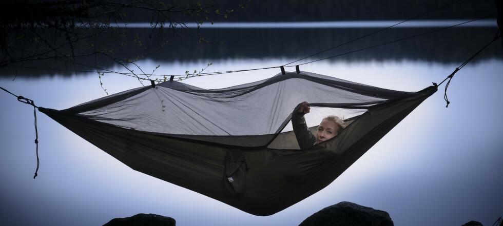 Sov godt i hengekøye