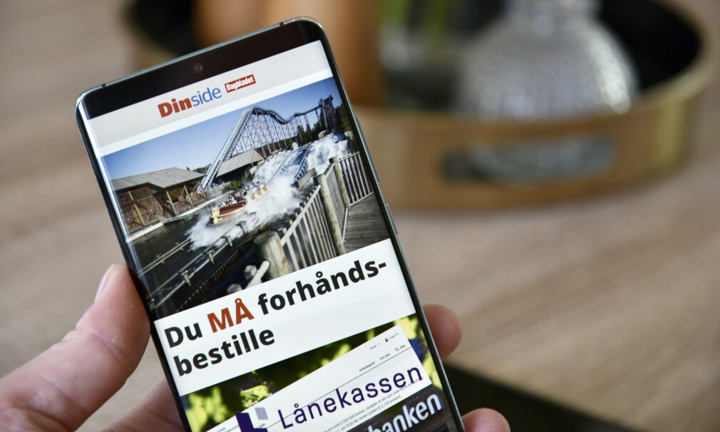 NÅ SOM APP: Endelig har vi laget en egen Dinside-app som du kan laste ned gratis både til iOS og Android. Foto: Pål Joakim Pollen