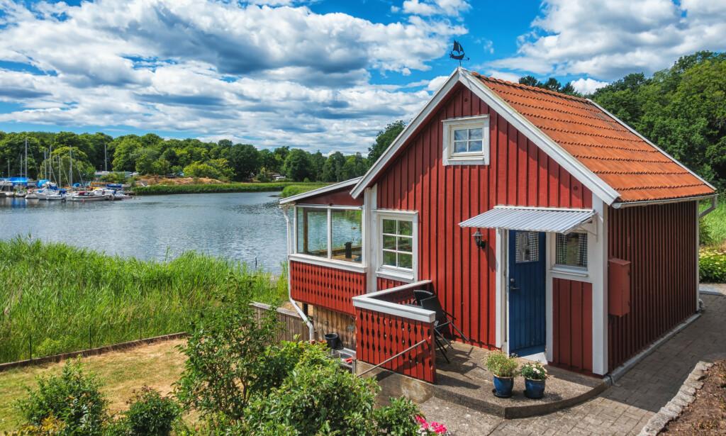 HYTTESOMMER: Mange skal tilbringe sommerferien på hytta, mens andre er på utkikk etter ei hytte de kan bruke feriedagene på. Foto: Shutterstock.