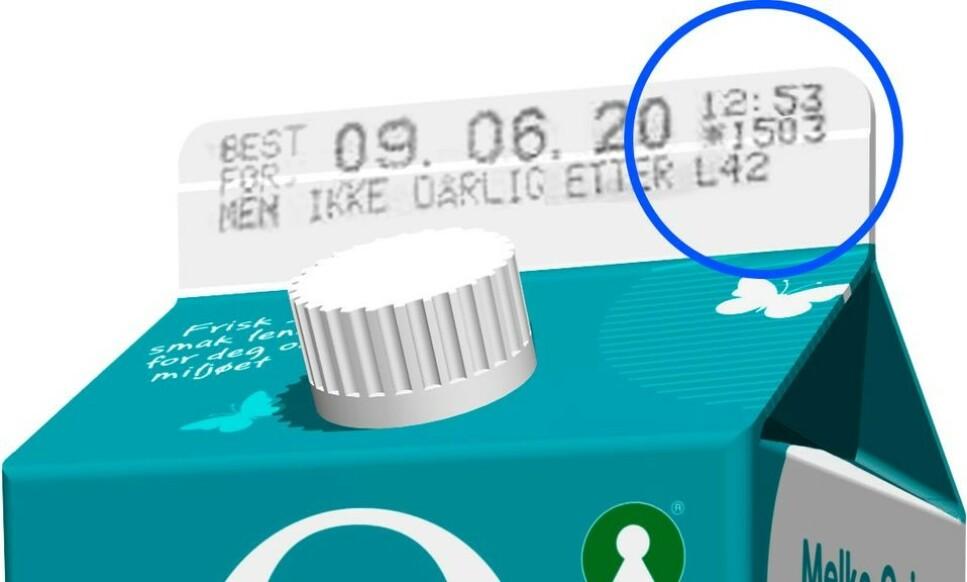 KAN BLI DÅRLIG FØR: Et kvalitetsavvik kan gjøre melka dårlig før datomerkingens lovnad. Foto: Q-Meieriene.