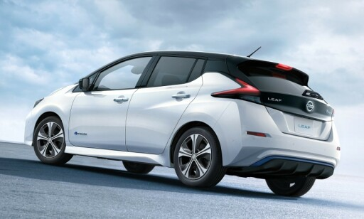 FORTSETTELSEN: Andre generasjon Nissan Leaf, har også solgt godt, siden 2018. Foto: Nissan