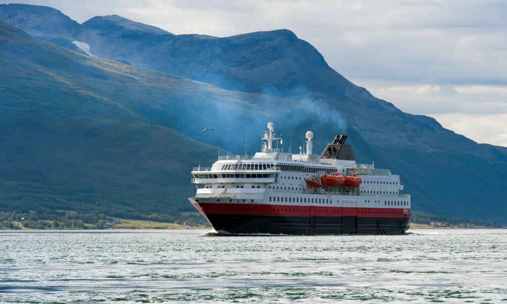 HURTIGRUTEN OG CORONA: Det blir en litt annen opplevelse å reise med Hurtigruten i sommer, grunnet Covid-19. Foto: NTB Scanpix