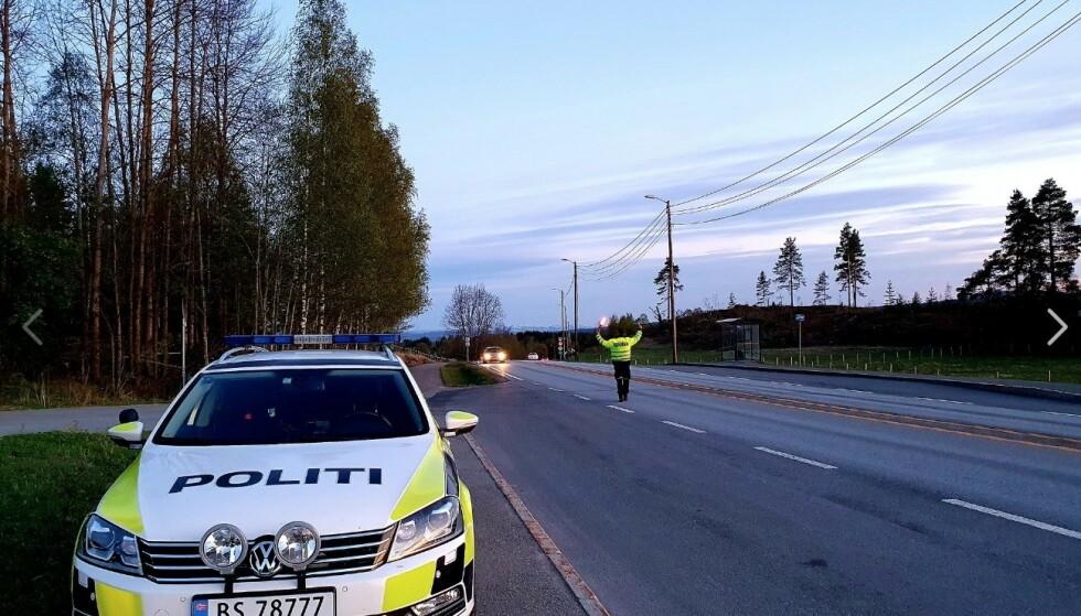 FLEST UTLENDINGER: Politiet og Statens vegvesen har tatt en gode del flere utlendinger enn nordmenn med falske førerkort. Foto: UP