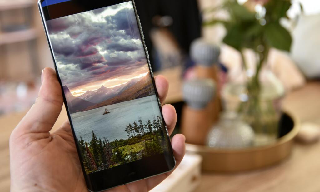 KRASJER TELEFONEN: Ikke bruk bildet over som bakgrunnsbilde på telefonen – da kan det være at du må nullstille den helt for å få brukt den igjen. Foto: Pål Joakim Pollen
