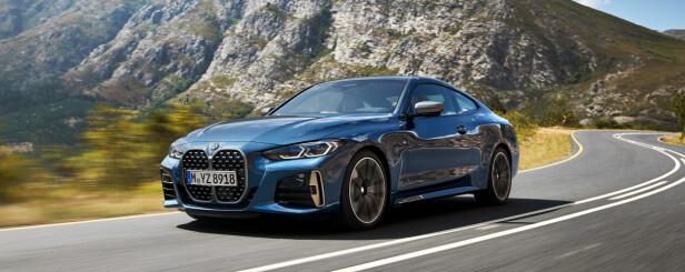 SAMME TREND: Flere har gjort det før, blant annet Audi, som nesten ikke har annet enn åpninger i hele fronten på enkelte modeller. Nå kommer BMW etter. Foto: BMW