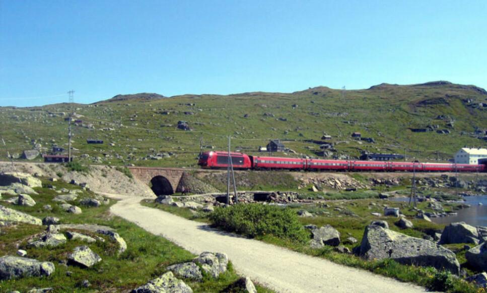 BERGENSBANEN: Vy vil ikke kjøre nattog mellom Bergen og Oslo i sommer, mens Go-Ahead dropper nattog på Sørlandsbanen. Foto: Vidar Knai/Scanpix