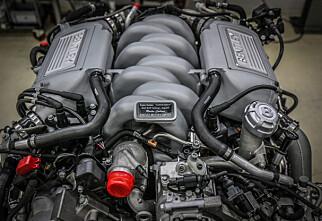 Slutt for V8