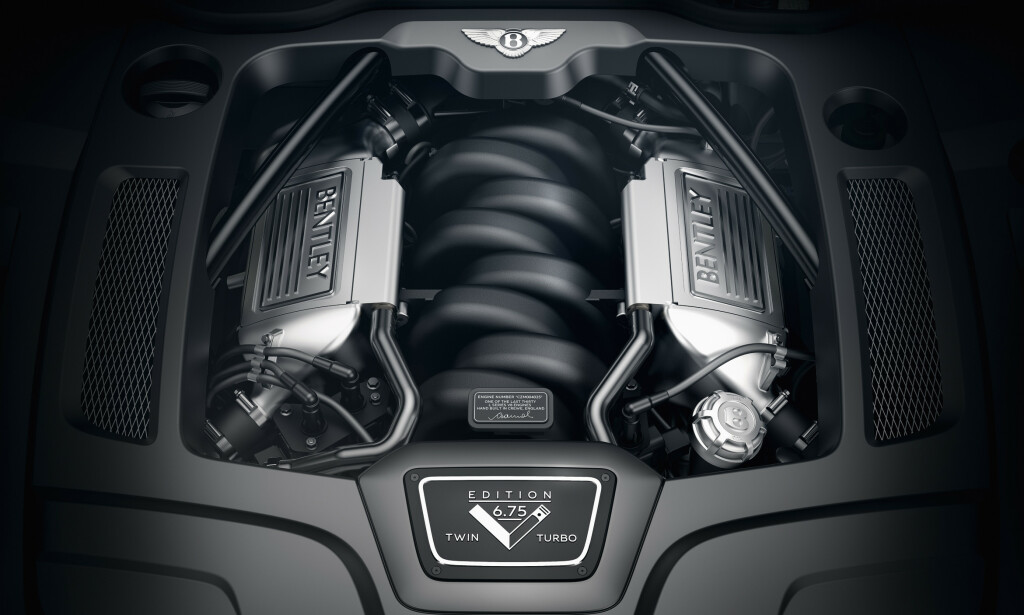 ALUMINIUM: Da motoren ble utviklet fra 1952, gikk man for aluminium da rekkesekseren skulle erstattes. V8-motoren var lettere og har eksistert frem til nå, selv om det er over 5 år siden man kunne spore en eneste del fra den originale motoren. Foto: Bentley