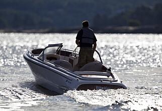 Foreslår generell fartsgrense for fritidsbåter