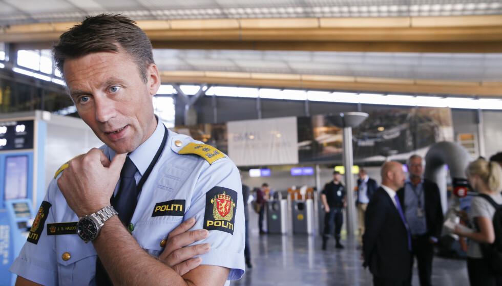 Steven Hasseldal er sjef i utrykningspolitiet. Foto: Terje Pedersen / NTB scanpix