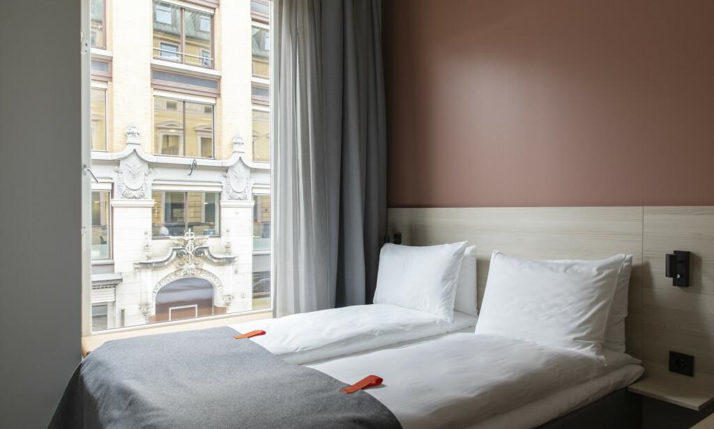 HOTELL MED PRISGARANTI: Citybox innfører prisgaranti på sine hoteller i Oslo og Bergen - og de lover altså å matche prisen dersom du finner lavere pris på sammenliknbart hotell i sentrum av byene. Men det er ikke noe andre, større kjeder tenker å innføre. Foto: Citybox