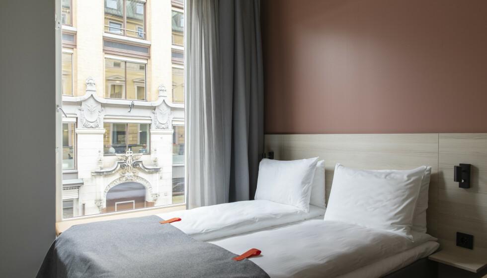 <strong>HOTELL MED PRISGARANTI:</strong> Citybox innfører prisgaranti på sine hoteller i Oslo og Bergen - og de lover altså å matche prisen dersom du finner lavere pris på sammenliknbart hotell i sentrum av byene. Men det er ikke noe andre, større kjeder tenker å innføre. Foto: Citybox