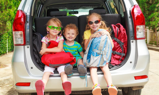 image: Bilferie med barna? Husk dette
