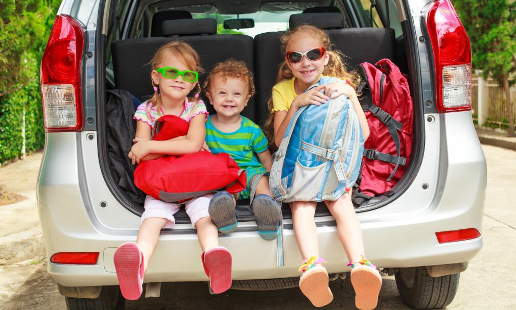 BILFERIE I SOMMER?: Bilferie med barna behøver ikke å bli altfor krevende for de små dersom dere er godt forberedt. Eksperttipsene får du under! Illustrasjonsfoto: NTB Scanpix.