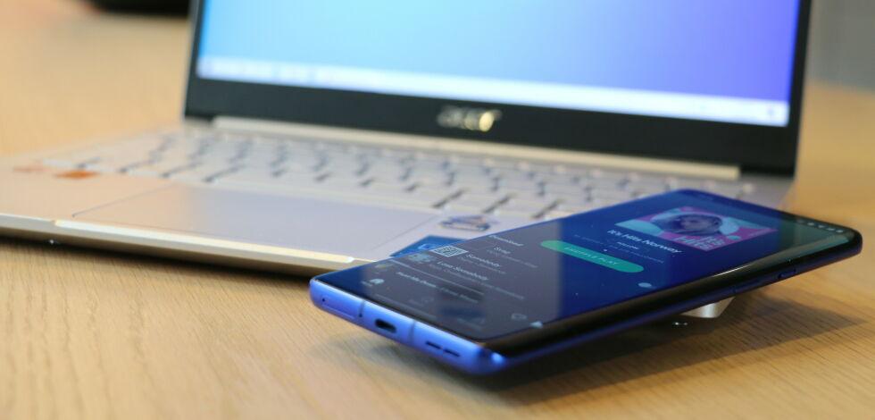 image: Bruk PC-en som Bluetooth-høyttaler
