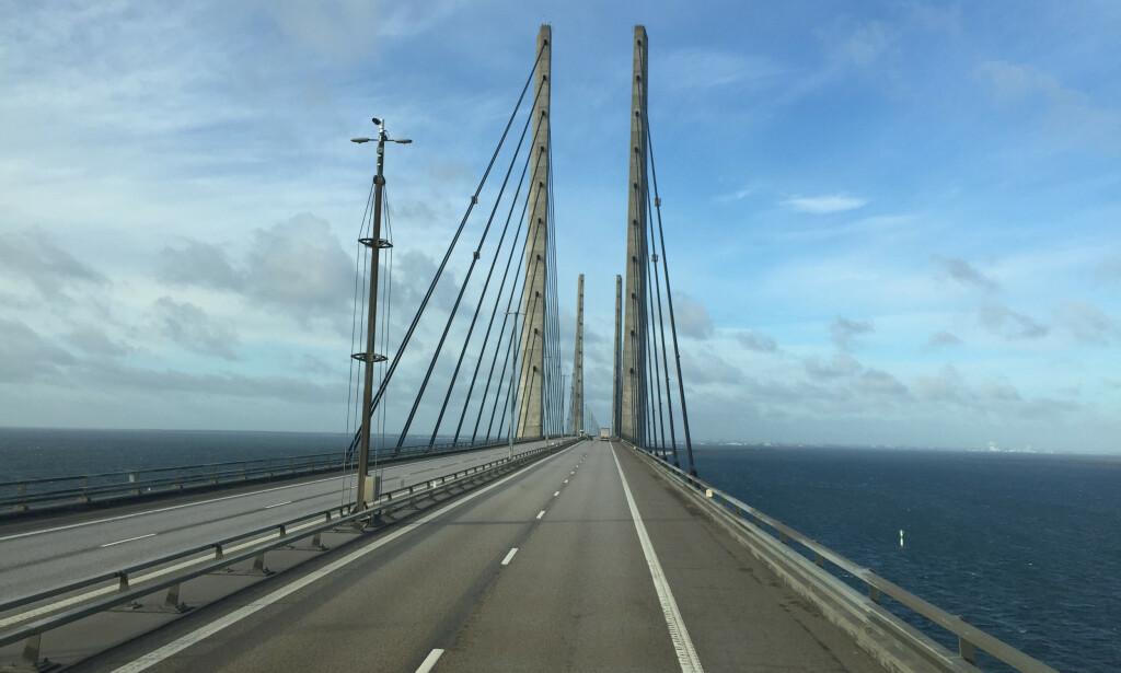 JA TIL SVENSK TRANSIT: Det er nå klart at du kan kjøre via Sverige og Øresundsbroen om du skal feriere i Danmark i sommer. Foto: NTB scanpix