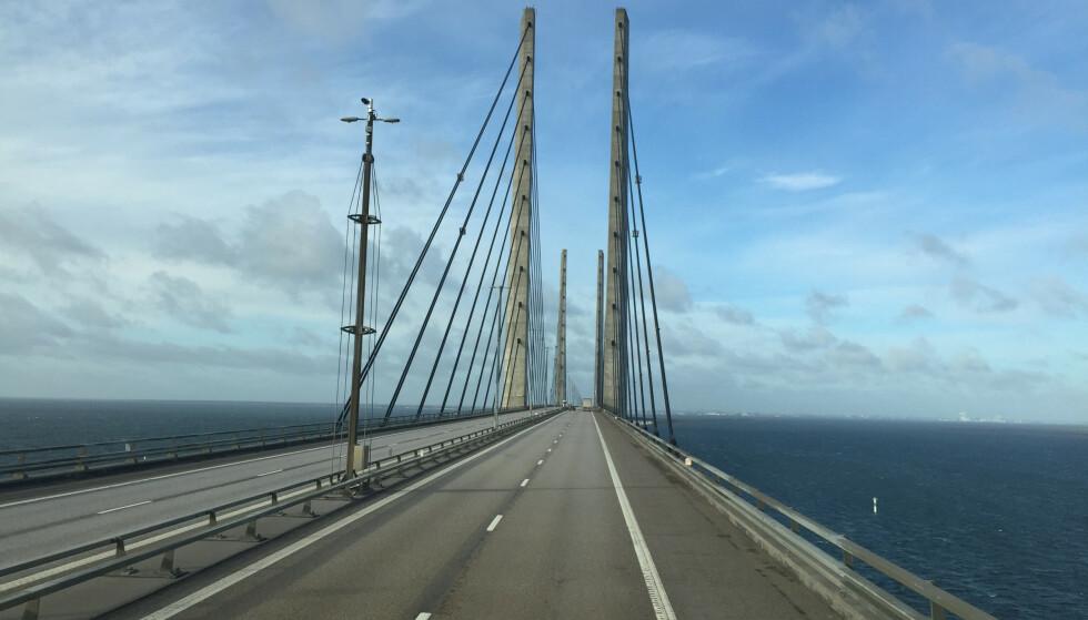<strong>JA TIL SVENSK TRANSIT:</strong> Det er nå klart at du kan kjøre via Sverige og Øresundsbroen om du skal feriere i Danmark i sommer. Foto: NTB scanpix