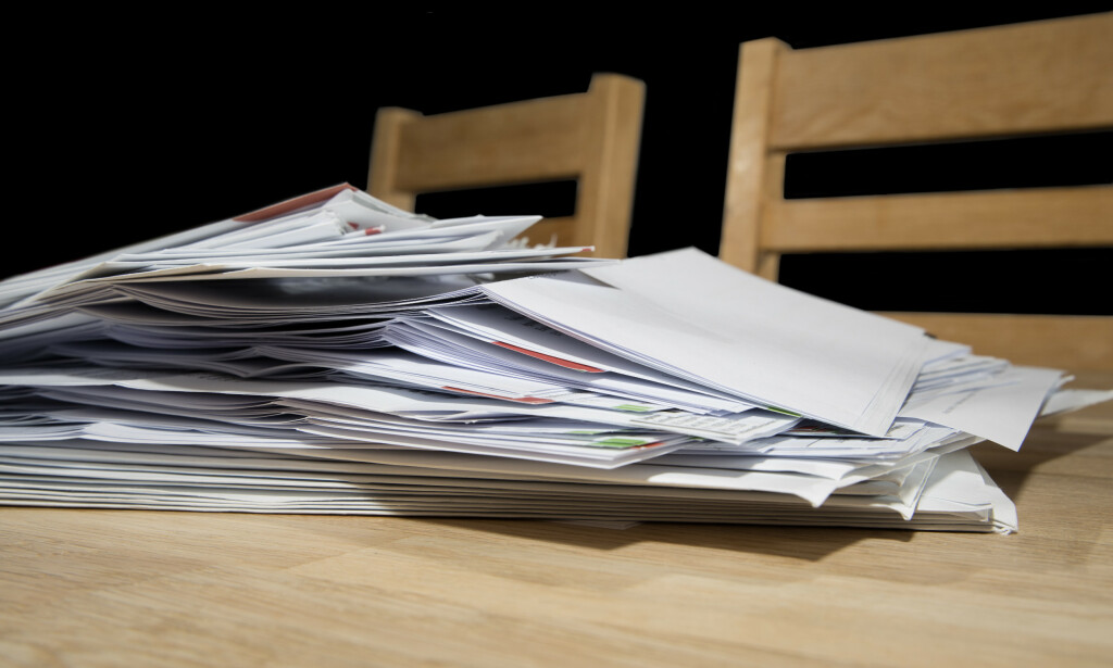 PENGEPROBLEMER: Det er bare ett tabu som er større enn regninger og inkassovarsler som tårner seg opp, ifølge Klarna. Foto: Shutterstock/NTB Scanpix
