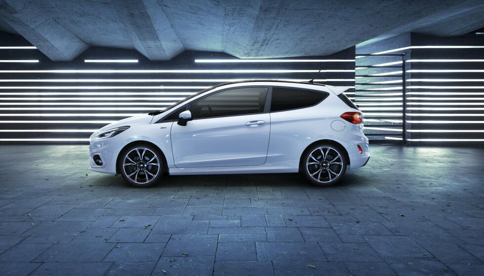 FORD FIESTA ECOOBOOST HYBRID: Nå kommer Fords småbil med nytt mildhybridsystem. Foto: Ford