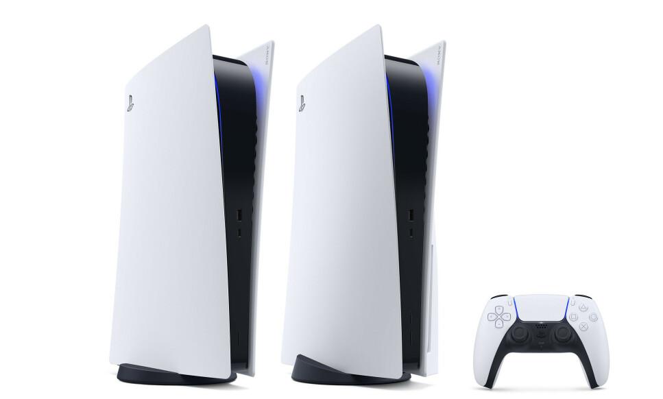 <strong>PLAYSTATION 5:</strong> Sony avslørte designet til PlayStation 5 og en haug med spill. Foto: Sony