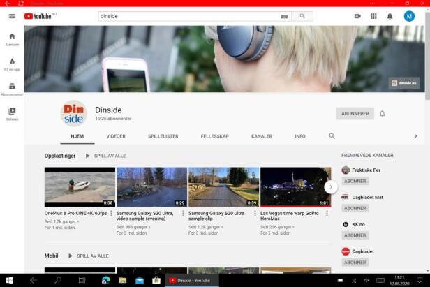 Finner du ikke en YouTube-app? Opprett en nettapp.