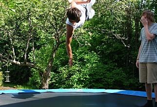 Nå kommer trampolineskadene
