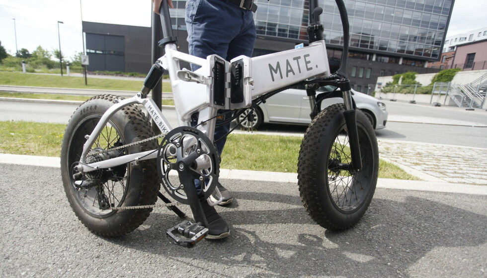 MATE X: Du blir fort blant de tøffeste i gata når du sykler rundt på denne. Foto: Øystein B. Fossum