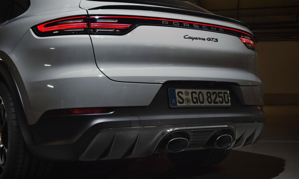 GODLYD I GTS: Cayenne GTS får tilbake V8. Coupe-modellen får disse pottene med ekstra påfyll av «godlyd». Foto: Porsche