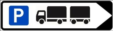 <strong>DØGNHVILEPLASS:</strong> Ser du et slikt skilt kan du ikke parkere bobilen eller campingvogna der.