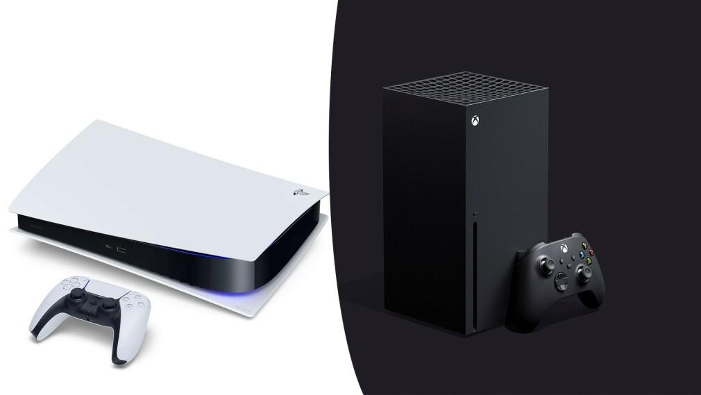 PLAYSTATION MOT XBOX: Uansett om du velger PlayStation 5 eller Xbox Series X, eller kanskje begge, har du veldig mye spillmoro i vente. Foto: Produsentene